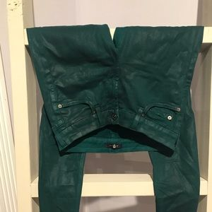 Seven for all Mankind green jeans